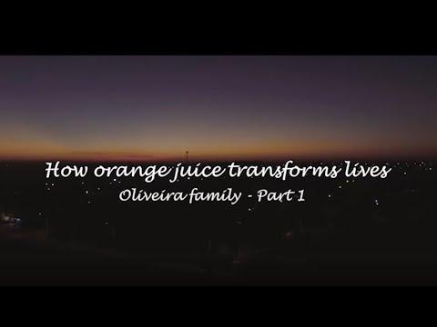 How orange juice transforms lives - PART 1