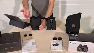 Canon 12x38 IS III vs. Fujifilm Fujinon TS 12x28
