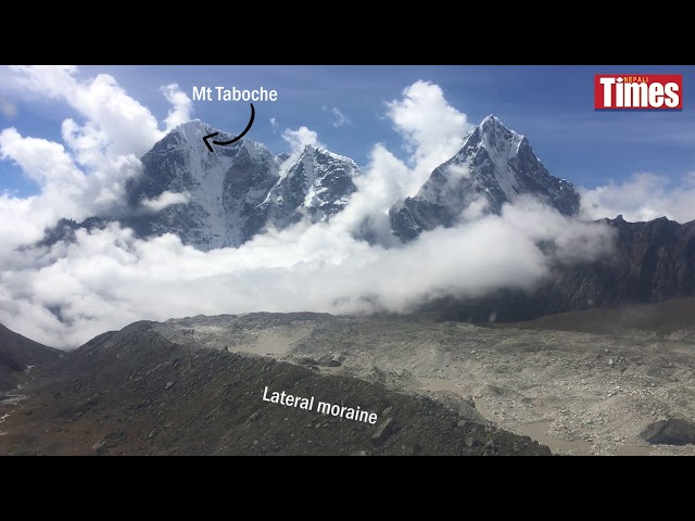 On thin ice in the Khumbu