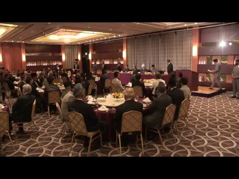 Reception in Tokyo, Japan, 2015