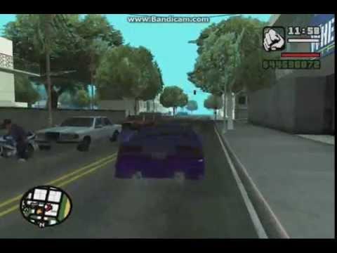 Video cara memodifikasi mobil di GTA san andreas