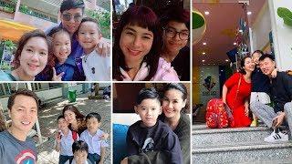 Sao Việt chia sẻ cảm xúc trong ngày các con đến trường khai giảng năm học mới