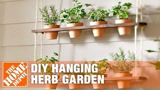 DIY Herb Garden | Vertical Hanging Garden | The Home Depot