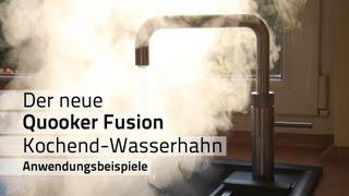 Quooker Fusion Kochendes Wasser Aus Dem Wasserhahn
