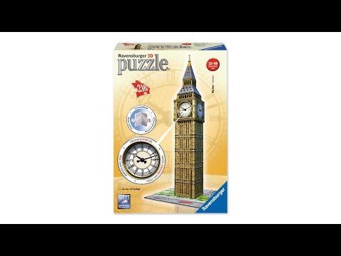 3D Puzzles – Big Ben Clock by Ravensburger