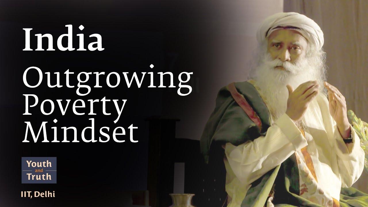 India Outgrowing Poverty Mindset