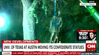 University Of Texas Removes Confederate Statues From Campus!