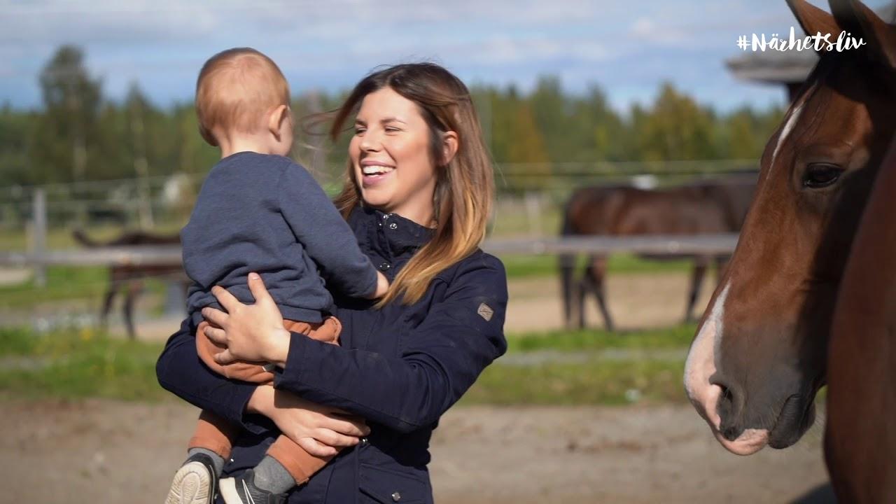 Familjeliv på hästgården