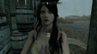 Skyrim Special Edition Mod Review Sofia the Funny Fully Voiced Follower
