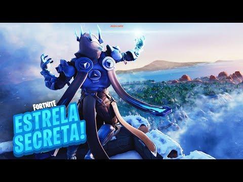 ESTRELA/ESTANDARTE DE BATALHA SECRETA SEMANA 8 TEMPORADA 7 DE FORTNITE