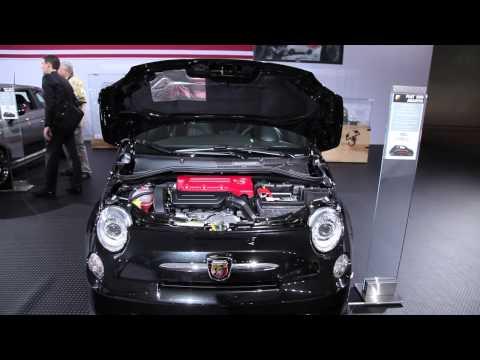 2012 Fiat 500 Abarth - 2011 LA Auto Show