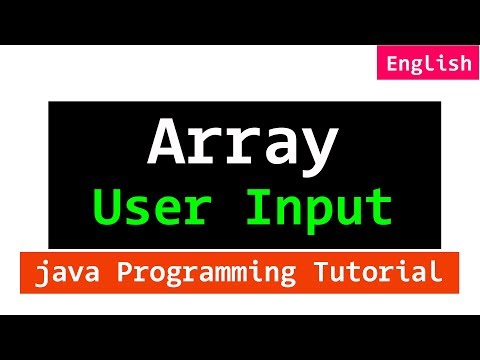 mp4 Java Store User Input In Array, download Java Store User Input In Array video klip Java Store User Input In Array