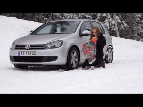 AutoSock: la Calza da Neve in Tessuto