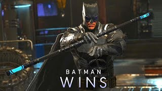 Injustice 2 - Batman using Staff of Grayson (PC Mod)