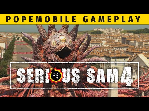 Popemobile Gameplay de Serious Sam 4: Planet Badass