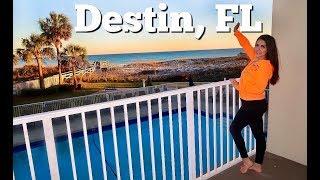 Destin, FL Family Vacation 2020 | Beach Fun & Airbnb Tour | Part 1 Of 4