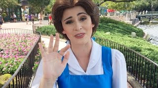 I told Belle about her movie! / Disney Family Vacation 2016 Vlog 3