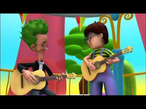 Alex - La Guitarra - dibujos educativos sobre música para niños