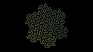 Fractal charm: Space filling curves