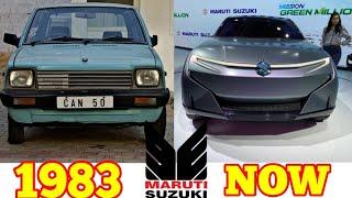 Maruti Suzuki Evolution (1983 - Now) || Maruti Suzuki History