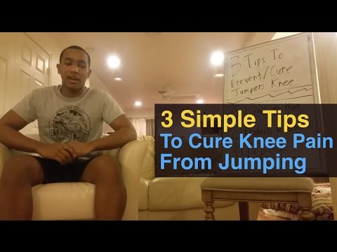 Video 3 Simple Steps To Cure Knee Pain From Jumping (Jumpers Knee & Tendonitis Knee)