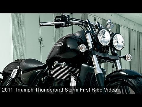 MotoUSA First Ride:  2011 Triumph Thunderbird Storm