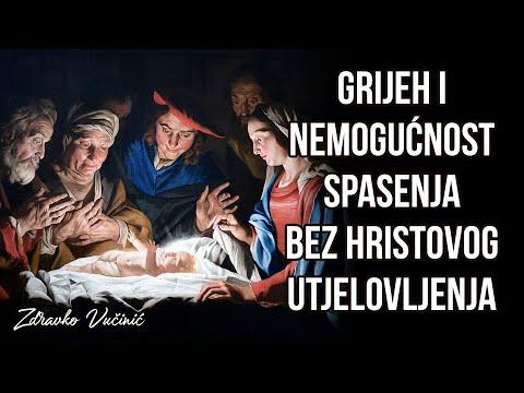 Zdravko Vučinić: Grijeh i nemogućnost spasenja bez Hristovog utjelovljenja (1)