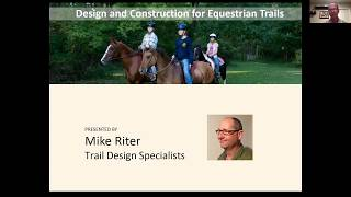 Design and Construction for Equestrian Trails - Sustainably