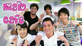 Jun visits a Maid Cafe ♥ 初メイドカフェ(秋葉原)