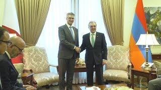 The Meeting of Zohrab Mnatsakanyan with Carmelo Abela, the Minister of Foreign Affairs and Trade Promotion of Malta