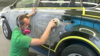 Как Покрасить Авто (проект ЗЕЛЁНКА)- часть 2