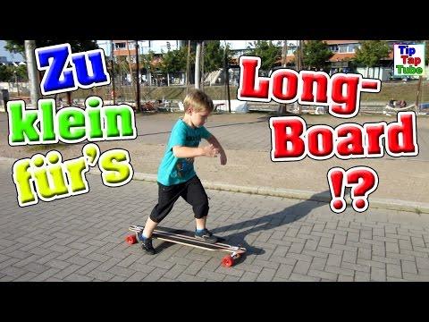 Zu klein fürs Longboard !? Ganze Familie testet Yorbay 41 Retro Cruiser VLOG TipTapTube