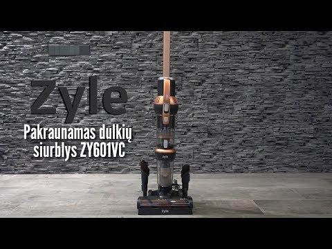 Uzlādējams putekļsūcējs Zyle ZY601VC, 500 W cena un informācija | Putekļu sūcēji | 220.lv