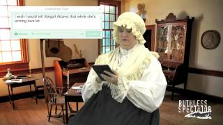 Tweets of the Rich & Famous: Martha Washington #1