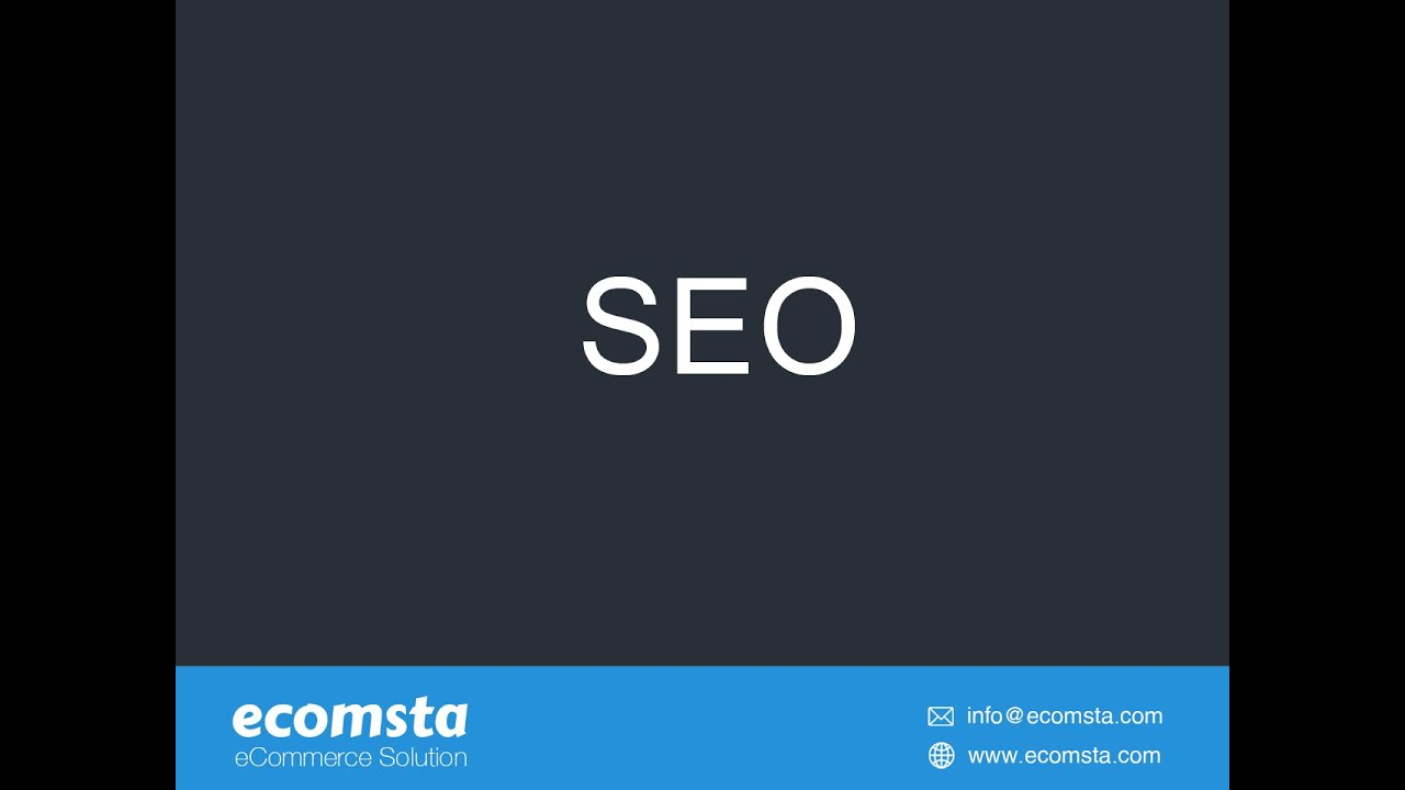 How to do page optimization in eComsta?
