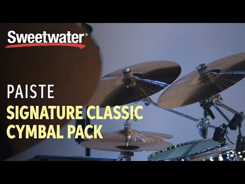 Paiste Signature Classic Cymbal Pack with Free 16″ Crash Reviewed