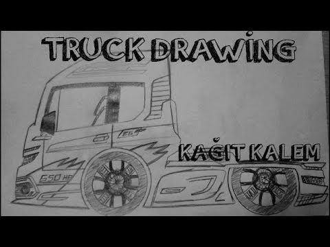 Truck Drawingtır çizimi видео сообщество