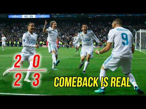 5 Comebacks Dramatis Real Madrid Era Zinedine Zidane 2016-18