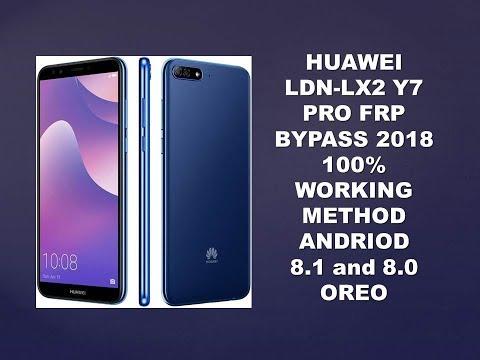 Huawei Y7 Pro 2018 (LDN-LX2) Frp Bypass 8 0 Oreo - смотреть