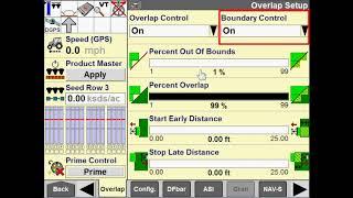 AFS Pro 700: Overlap, Boundary & Delay Setup