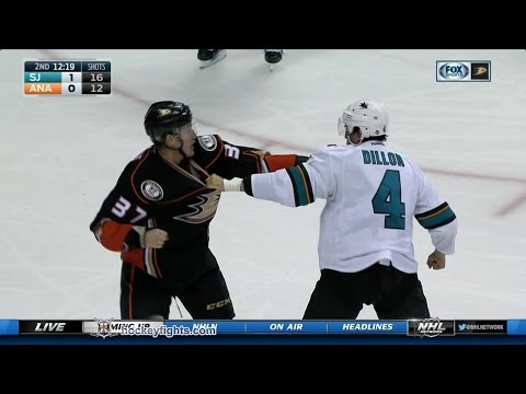 Nick Ritchie vs. Brenden Dillon