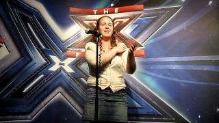 """""""We are Family"""" X-Factor London Auditions - Sinead McL!! I was robbed!!"""