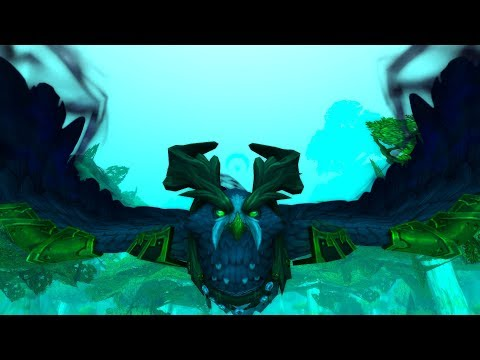 The Story of Lunarwing Owl Form - Patch 7.2 Druid Class Mount