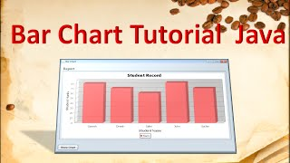 How to make bar chart in java using JFreeChart