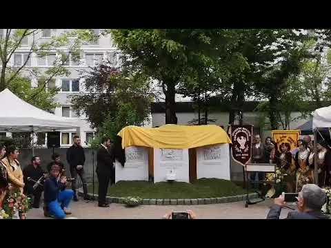 Τα αποκαλυπτήρια του μνημείου της Γενοκτονίας των Ελλήνων του Πόντου στο Μόναχο (βίντεο)