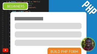 How Build a Simple HTML Form Using PHP - PHP Forms Tutorial