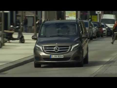 2015 Mercedes Benz V-Class 250 BlueTEC Indium Grey Metallic Drive