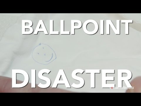 The Best Way To Remove Ballpoint Pen Ink Stains From Clothing