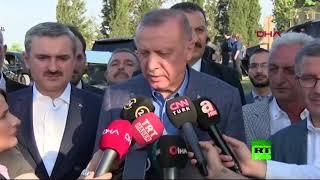 أردوغان يعلق على وفاة مرسي ويشن هجوما على السيسي