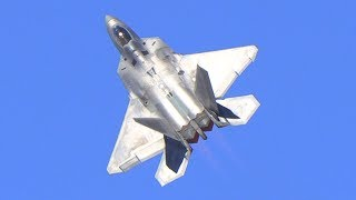 F-22 Raptor Demo 2018 Yuma Air Show
